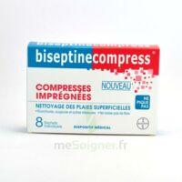 Biseptinecompress Compressses Impregnees, Bt 8 à Saint Priest
