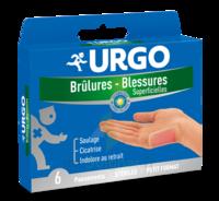 URGO BRULURES-BLESSURES PETIT FORMAT x 6 à Saint Priest