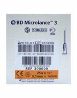 Bd Microlance 3, G25 5/8, 0,5 Mm X 16 Mm, Orange  à Saint Priest