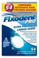 Fixodent Pro Comprimés Nettoyant Fraîcheur Longue Durée Pour Prothèse Dentaire B/54 à Saint Priest
