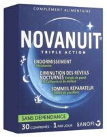 Novanuit Triple Action Comprimés B/30 à Saint Priest