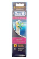 BROSSETTE DE RECHANGE ORAL-B FLOSS ACTION x 3 à Saint Priest