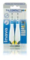 Inava Brossettes Tri Compact étroit  012 Noir 0,6mm/ Bleu 0,8mm/ Jaune 1mm à Saint Priest