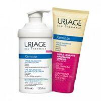 Xémose Crème relipidante anti-irritations Fl pompe/400ml + Huile lavante 200ml à Saint Priest