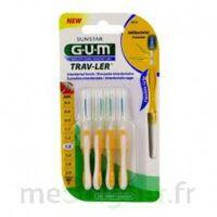 Gum Trav - Ler, 1,3 Mm, Manche Jaune , Blister 4 à Saint Priest