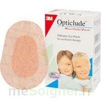 Opticlude Pansement orthoptique chair maxi 5,7x8cm B/20 à Saint Priest