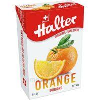 Halter Bonbon Sans Sucre Orange 40g à Saint Priest