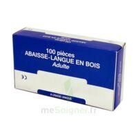 Cooper Abaisse-langue Bois Adulte B/100 à Saint Priest