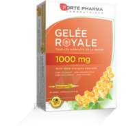 Forte Pharma Gelée royale 1000 mg Solution buvable 20 Ampoules/10ml à Saint Priest