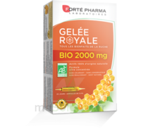 Forte Pharma Gelée royale bio 2000 mg Solution buvable 20 Ampoules/15ml à Saint Priest