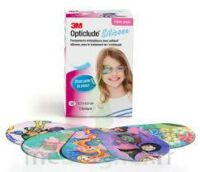 Opticlude Design Girl Pansements Orthoptiques Silicone Maxi 5,7x8cm B/50 à Saint Priest