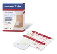 Leukomed T Plus Pansement adhésif stérile avec compresse transparent 8x15cm B/5 à Saint Priest
