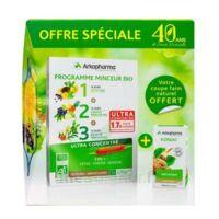 Arkofluides Programme Minceur Bio 30 ampoules/10ml + Arkogélules Konjac B/45 Offre spéciale 40 ans de santé naturelle à Saint Priest